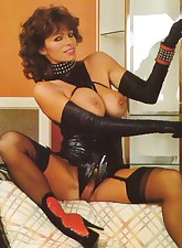 Check out these amazingly hot retro femdom pictures with chicks posing in their sexiest clothes.